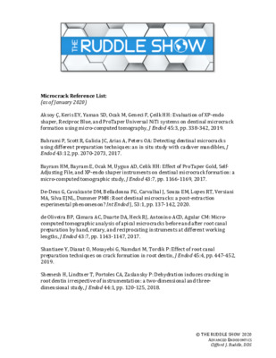 Ruddle Reference Listing