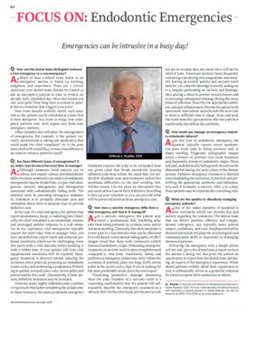 Focus On: Endodontic Emergencies