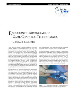 Endo Advancements: Game-Changing Tech